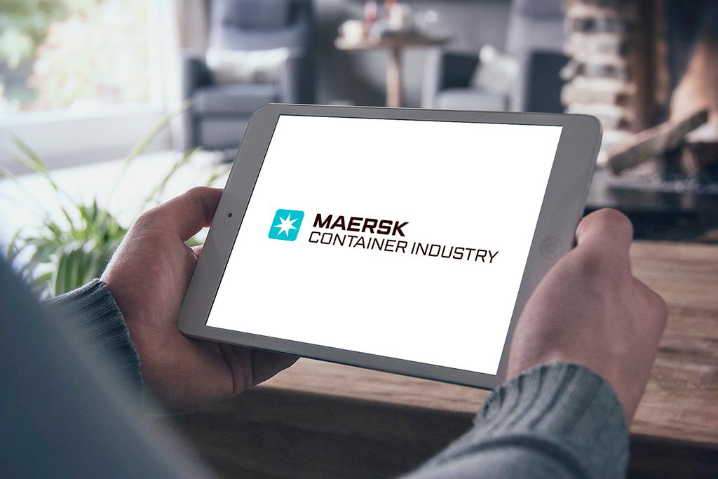 iPad Appen hjælper Maersk Container Industry